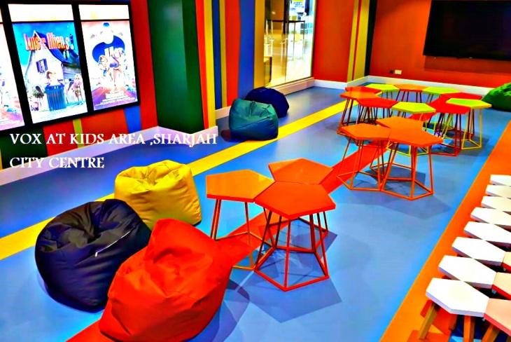 Vox at Kids Area – Sports Flooring in Dubai