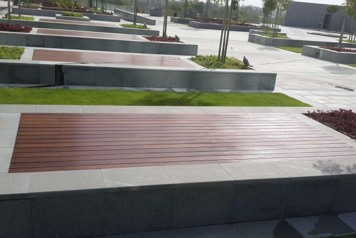Get External Wood Decking Service in Dubai