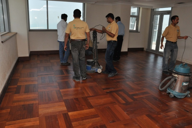 Home Flooring Solutions in Dubai
