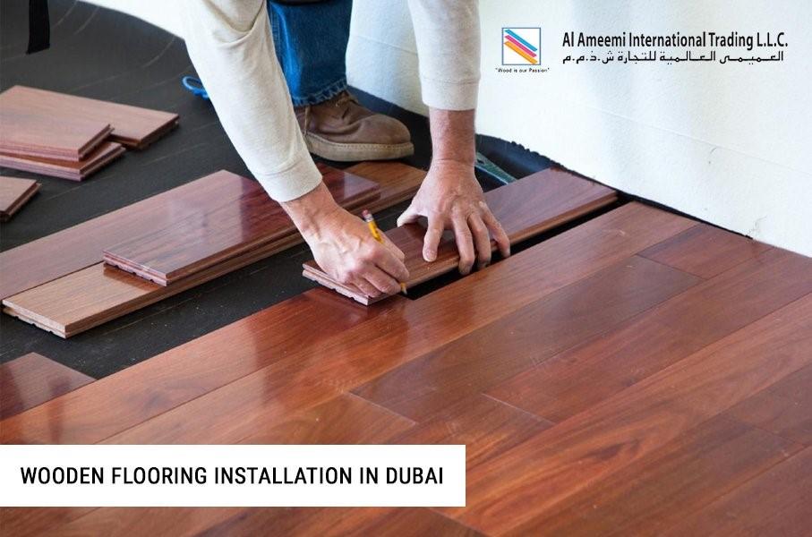 Wooden Flooring Installation