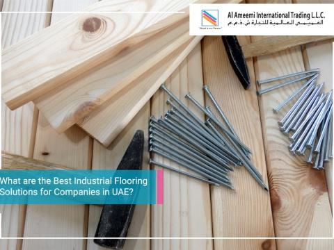 Best Industrial Flooring Solutions for Companies in UAE